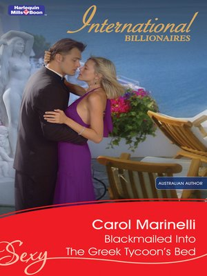 cover image of Blackmailed Into the Greek Tycoon's Bed