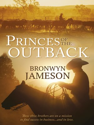 cover image of Princes of the Outback--3 Book Box Set