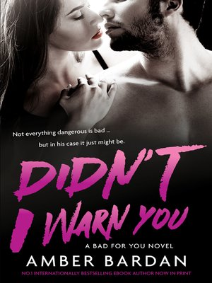 cover image of Didn't I Warn You