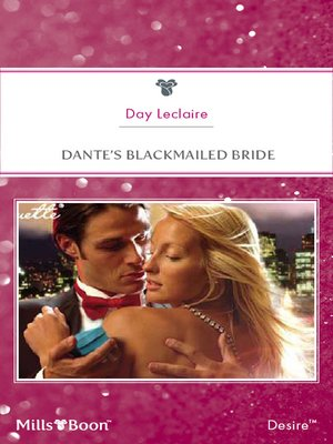 cover image of Dante's Blackmailed Bride