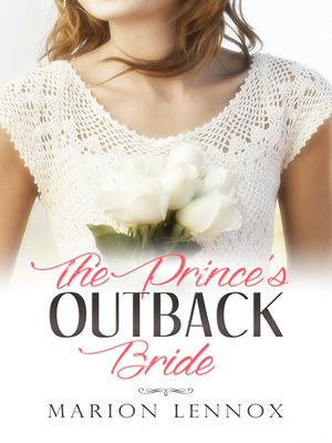 cover image of The Prince's Outback Bride