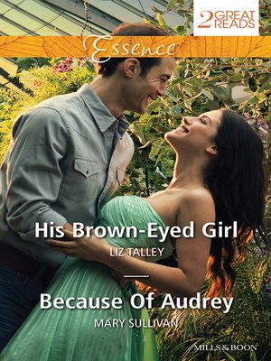 cover image of His Brown-Eyed Girl/Because of Audrey