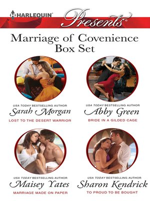 cover image of Marriage of Convenience Bundle--4 Book Box Set
