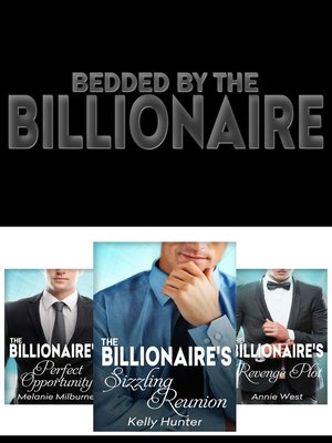 cover image of Bedded by the Billionaire--3 Book Box Set
