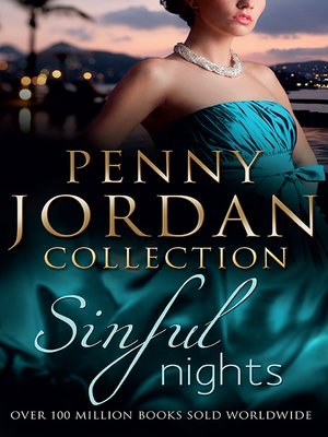 cover image of Penny Jordan's Sinful Nights--3 Book Box Set