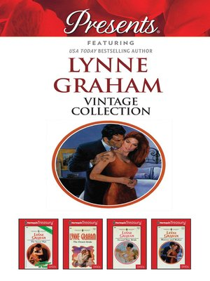 cover image of Lynne Graham Vintage Collection--4 Book Box Set