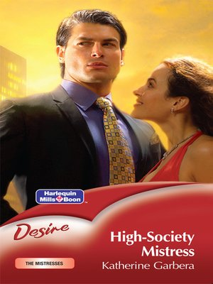 cover image of High-Society Mistress