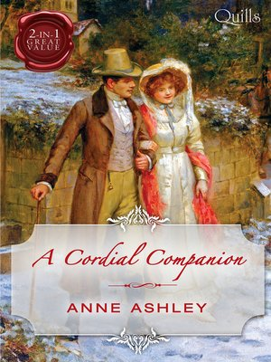 cover image of A Cordial Companion/Miss In a Man's World/An Ideal Companion