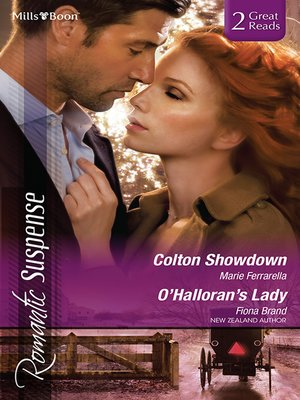 cover image of Colton Showdown/O'halloran's Lady