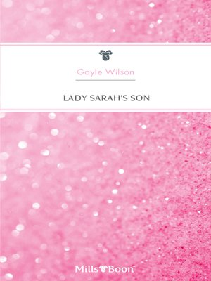cover image of Lady Sarah's Son