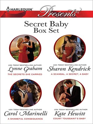 cover image of Secret Baby Bundle--4 Book Box Set