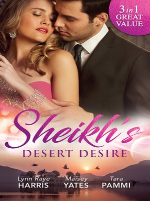 cover image of Sheikh's Desert Desire--3 Book Box Set