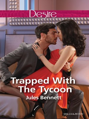 cover image of Trapped With the Tycoon