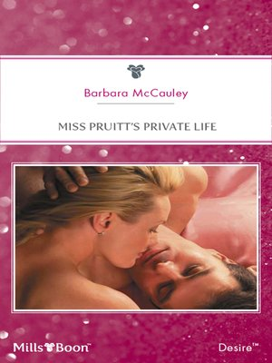cover image of Miss Pruitt's Private Life