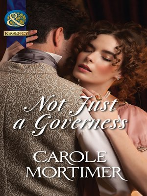 cover image of Not Just a Governess