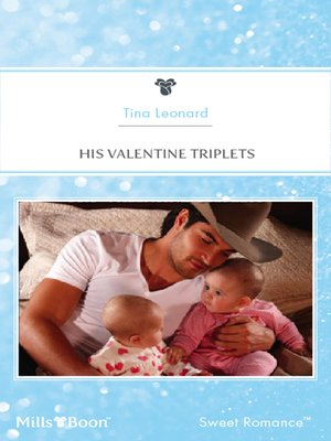 cover image of His Valentine Triplets