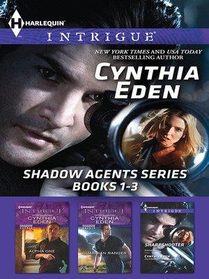 cover image of Cynthia Eden Shadow Agents Series Books 1-3--3 Book Box Set