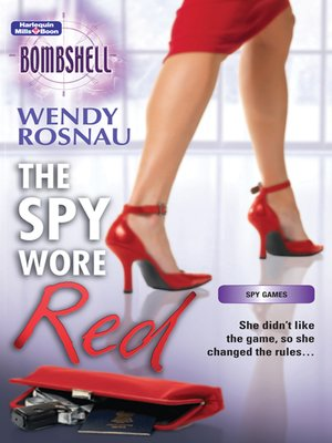 cover image of The Spy Wore Red