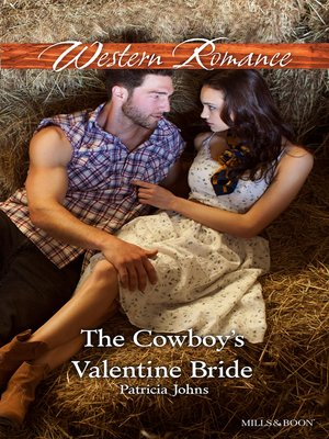 cover image of The Cowboy's Valentine Bride