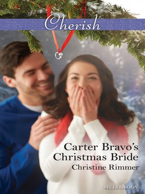 cover image of Carter Bravo's Christmas Bride