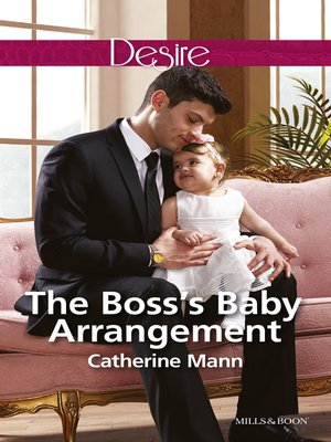 cover image of The Boss's Baby Arrangement