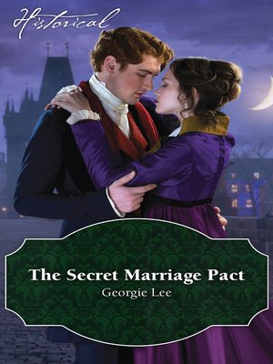cover image of The Secret Marriage Pact
