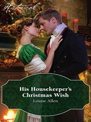 cover image of His Housekeeper's Christmas Wish