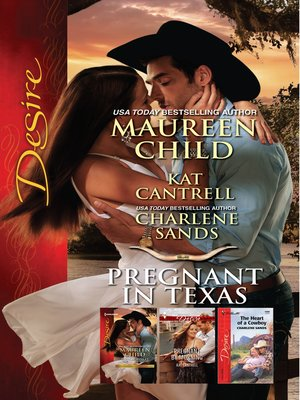 cover image of Pregnant In Texas--3 Book Box Set