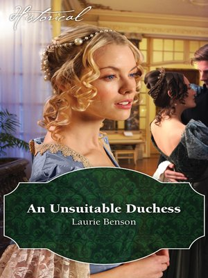 cover image of An Unsuitable Duchess