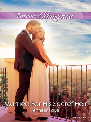 cover image of Married For His Secret Heir