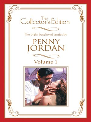 cover image of Penny Jordan--The Collector's Edition Volume 1--5 Book Box Set