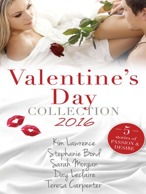 cover image of Valentine's Day Collection 2016--5 Book Box Set