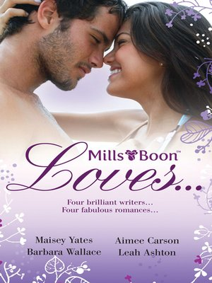 cover image of Mills & Boon Loves...--4 Book Box Set