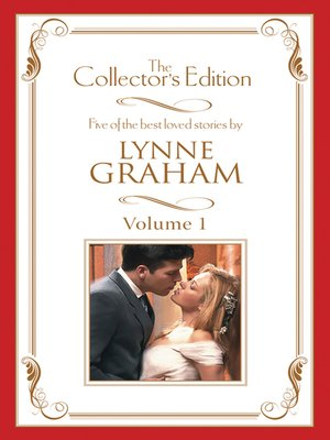 cover image of Lynne Graham--The Collector's Edition Volume 1--5 Book Box Set