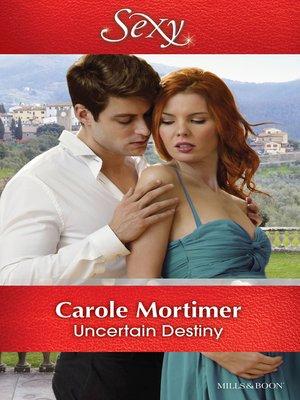 cover image of Uncertain Destiny