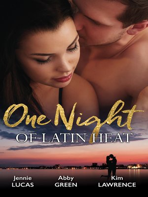 cover image of One Night of Latin Heat--3 Book Box Set