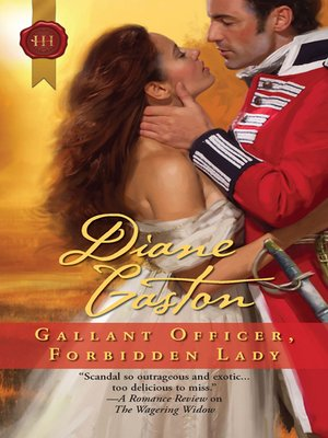 cover image of Gallant Officer, Forbidden Lady
