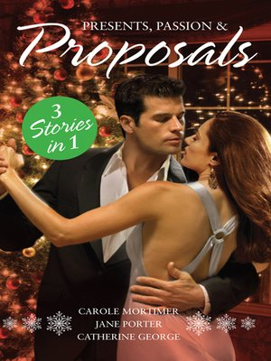cover image of Presents, Passion and Proposals--3 Book Box Set