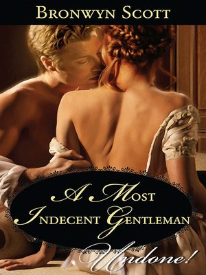 cover image of A Most Indecent Gentleman