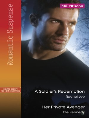 cover image of A Soldier's Redemption/Her Private Avenger