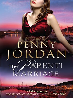 cover image of The Parenti Marriage--2 Book Box Set