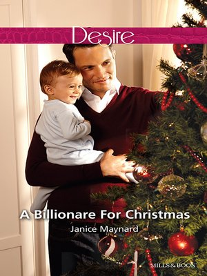 cover image of A Billionaire For Christmas