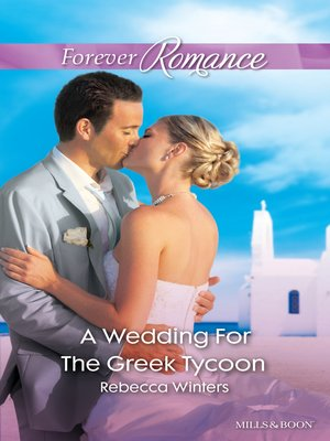 cover image of A Wedding For the Greek Tycoon
