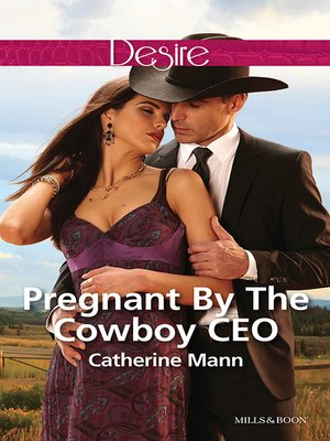 cover image of Pregnant by the Cowboy Ceo