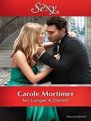 cover image of No Longer a Dream