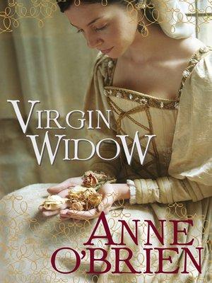 Virgin Widow By Anne Obrien