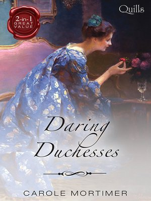 cover image of Daring Duchesses/Some Like It Wicked/Some Like to Shock