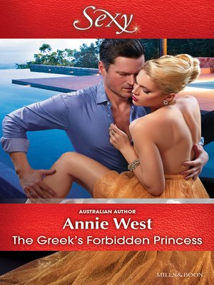 cover image of The Greek's Forbidden Princess