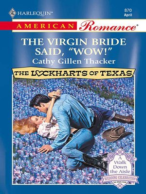 """cover image of The Virgin Bride Said, """"wow!"""""""
