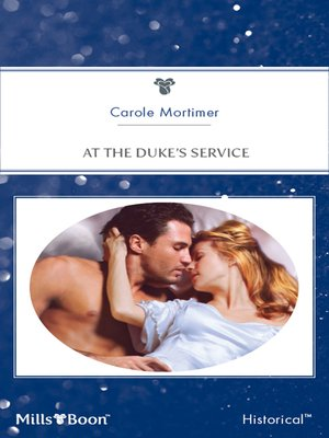 cover image of At the Duke's Service